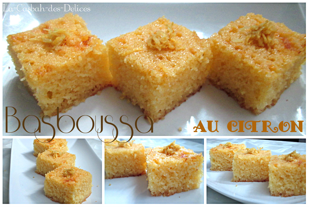 Basboussa (gâteau à la semoule)