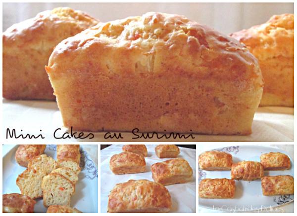 Mini cakes au Surimi