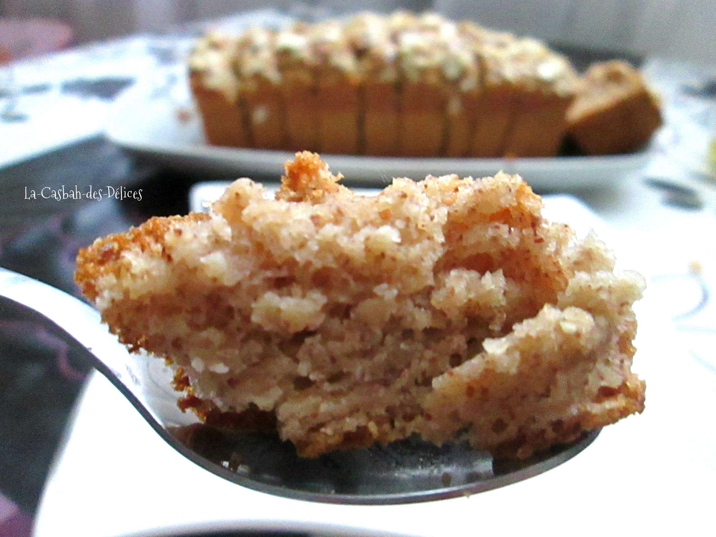 Cake à la purée d'amandes