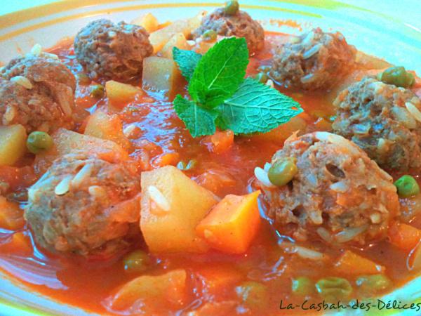 Solu kofte: Ragoût de viande et de légumes