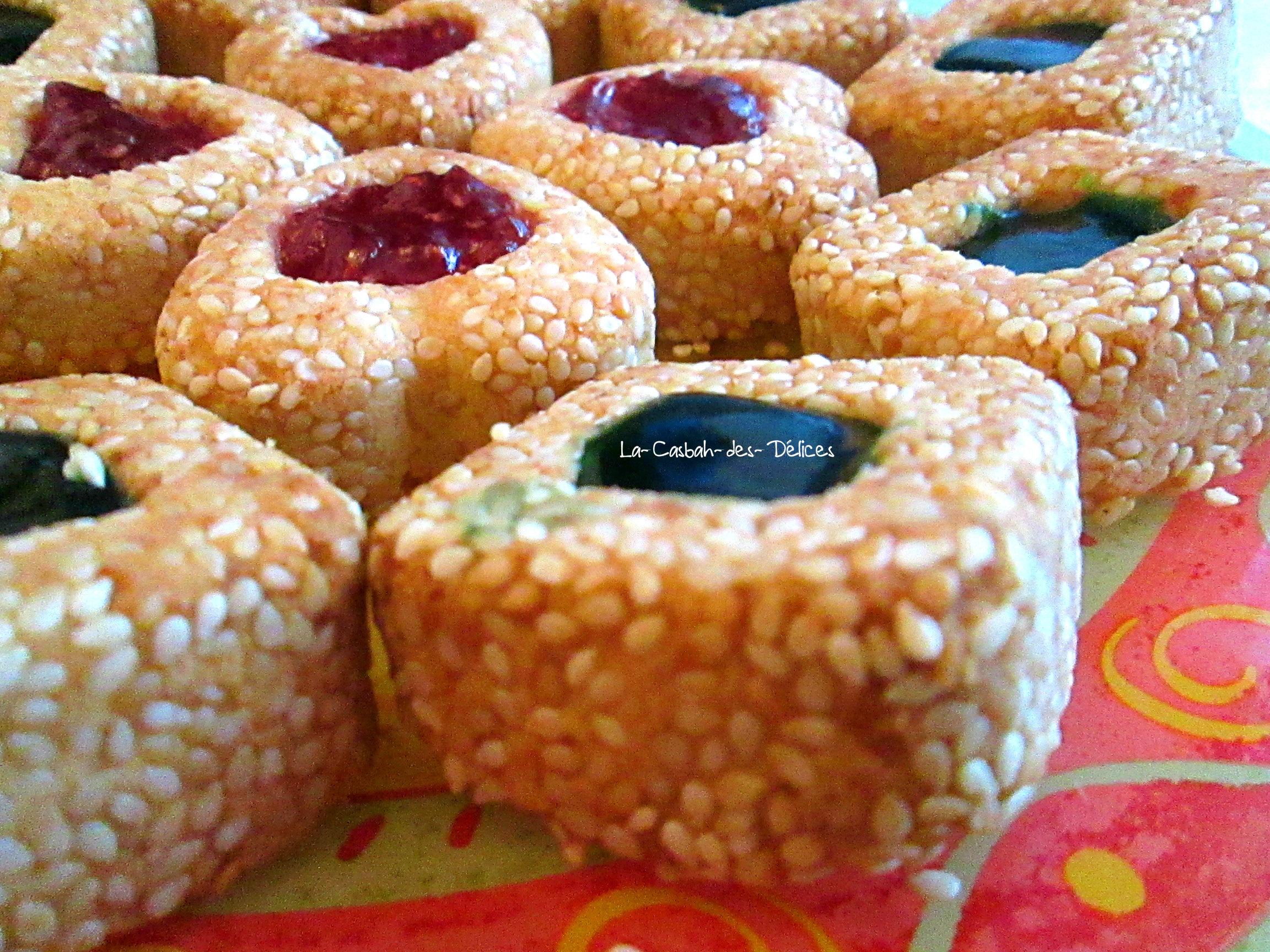 Gâteaux aux graines de sésames