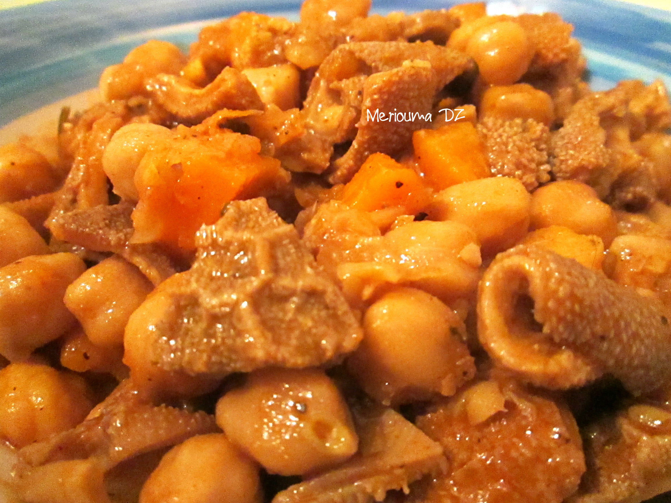 Bekbouka: tripes en sauce