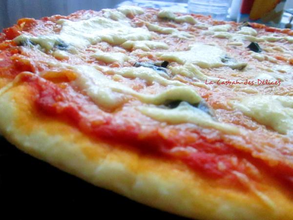 Pizza à la pâte magique