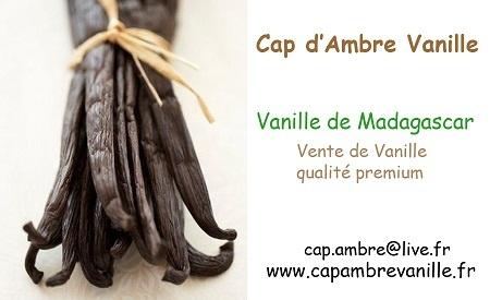 Nouveau partenaire: Cap d'Ambre Vanille