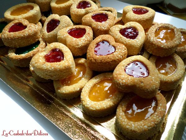 Biscuits aux graines de sésames