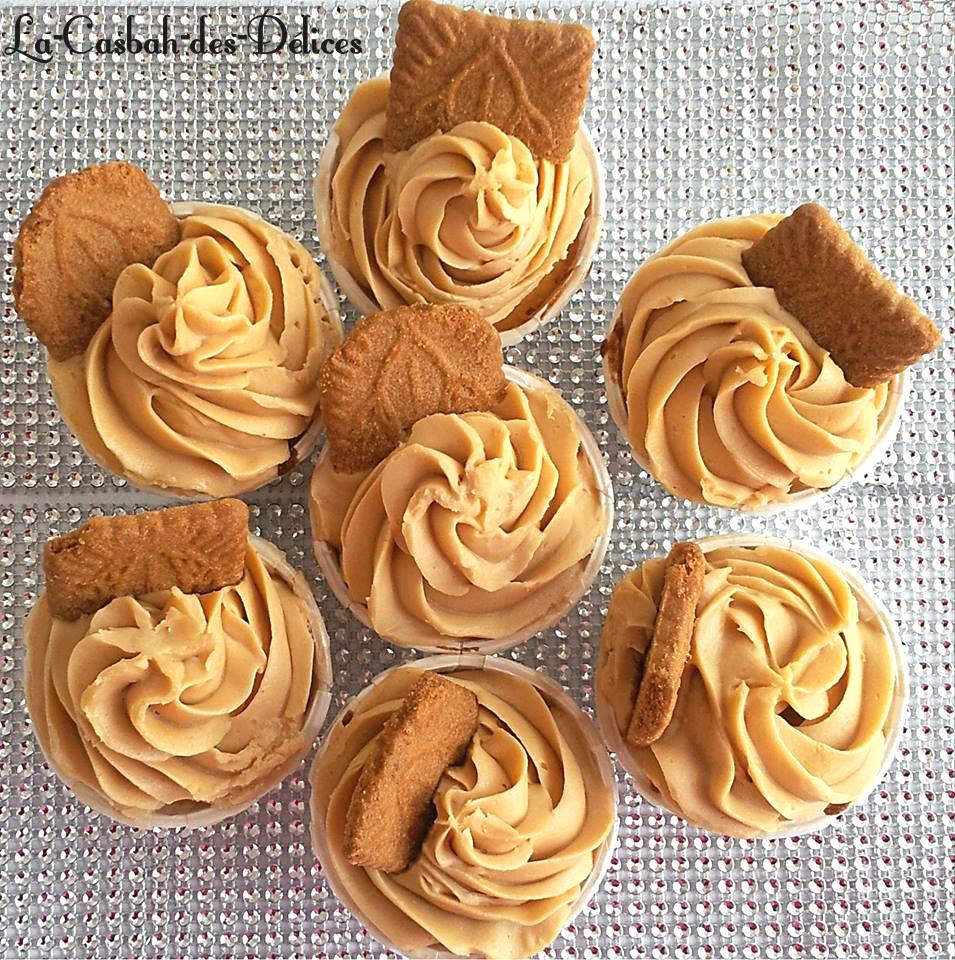 Cupcakes aux Spéculoos