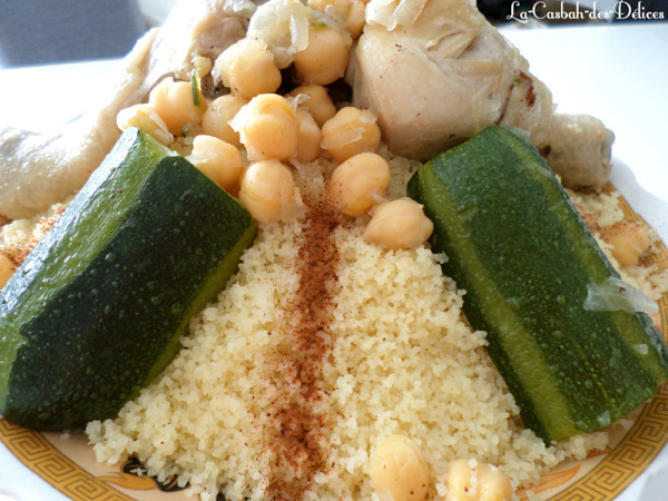 Couscous Algérois en sauce blanche