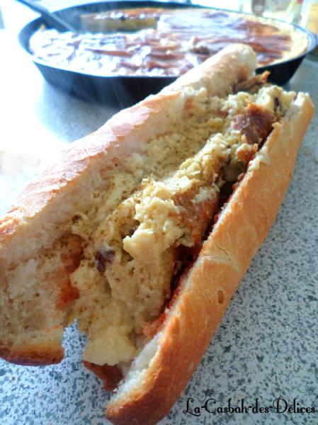 Sandwich de Garentita