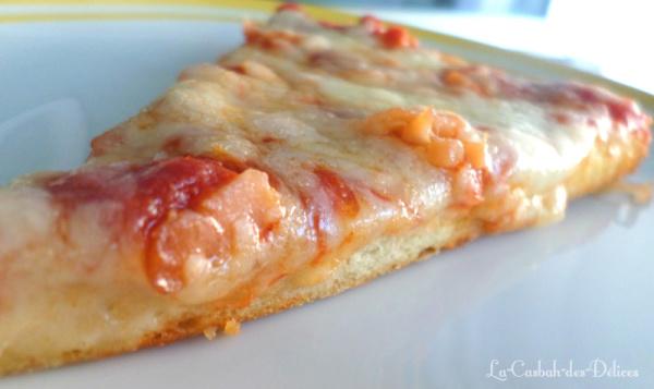 Pizza à la levure chimique