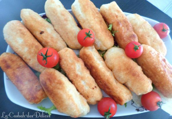 Beignets salés au Surimi et Cachir/Fromage