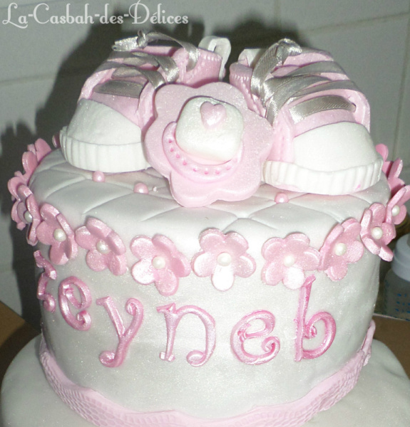 Victoria sponge cake pour gâteau naissance