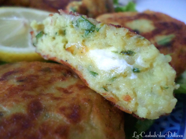 Maakouda au poireau et fromage