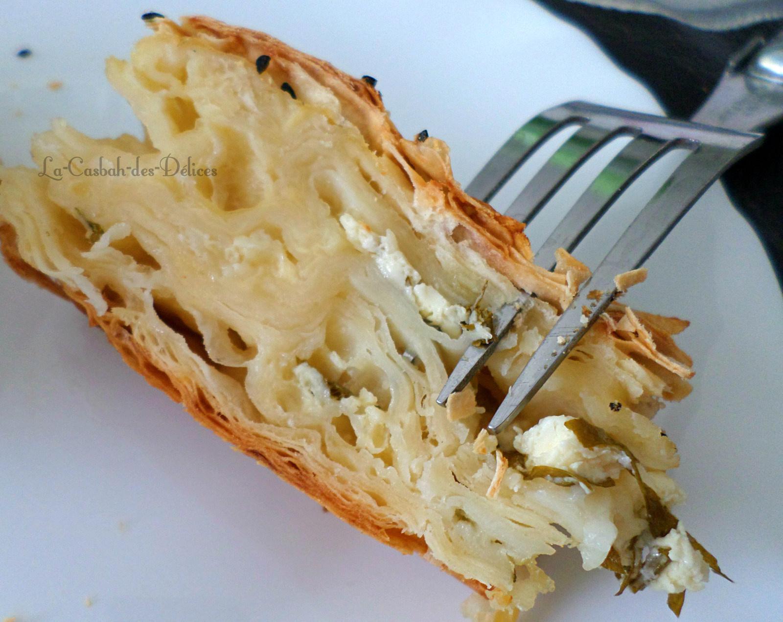 peynirli börek : Tarte au fromage