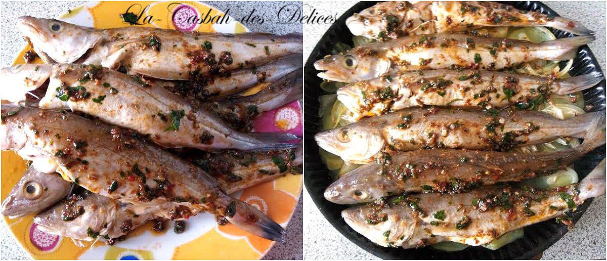 Après marinade et avant cuisson.