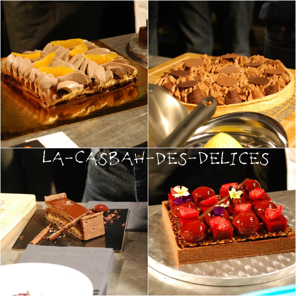 Finale Fou de Pâtisserie sur le thème : Tarte au chocolat.