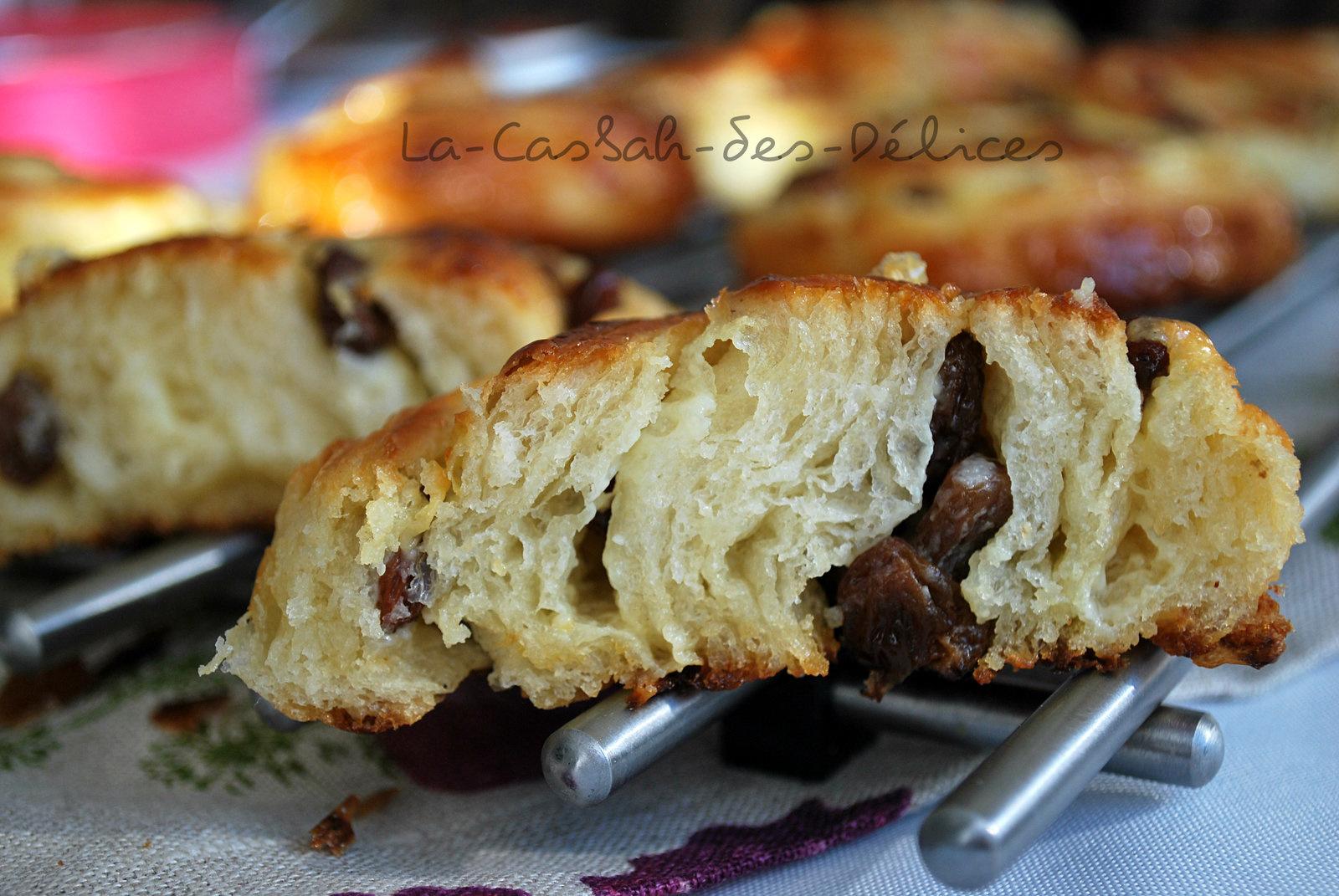Pains aux raisins (CAP pâtisserie)