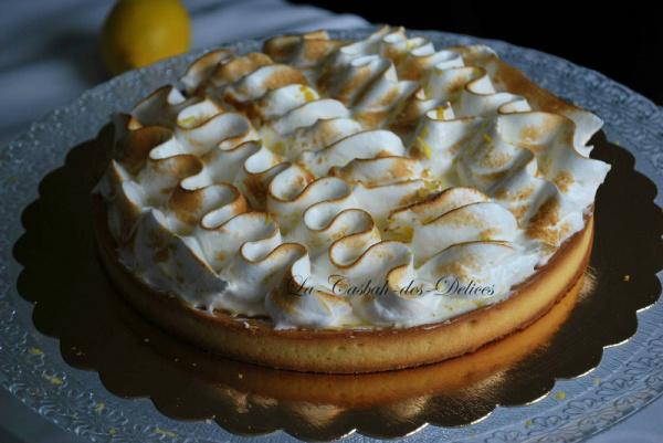 Tarte au citron meringuée (Cap pâtisserie)