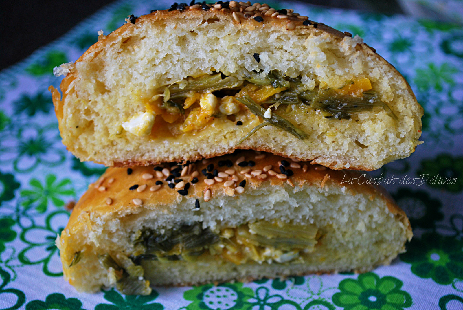 Buns extra moelleux aux légumes et fromage