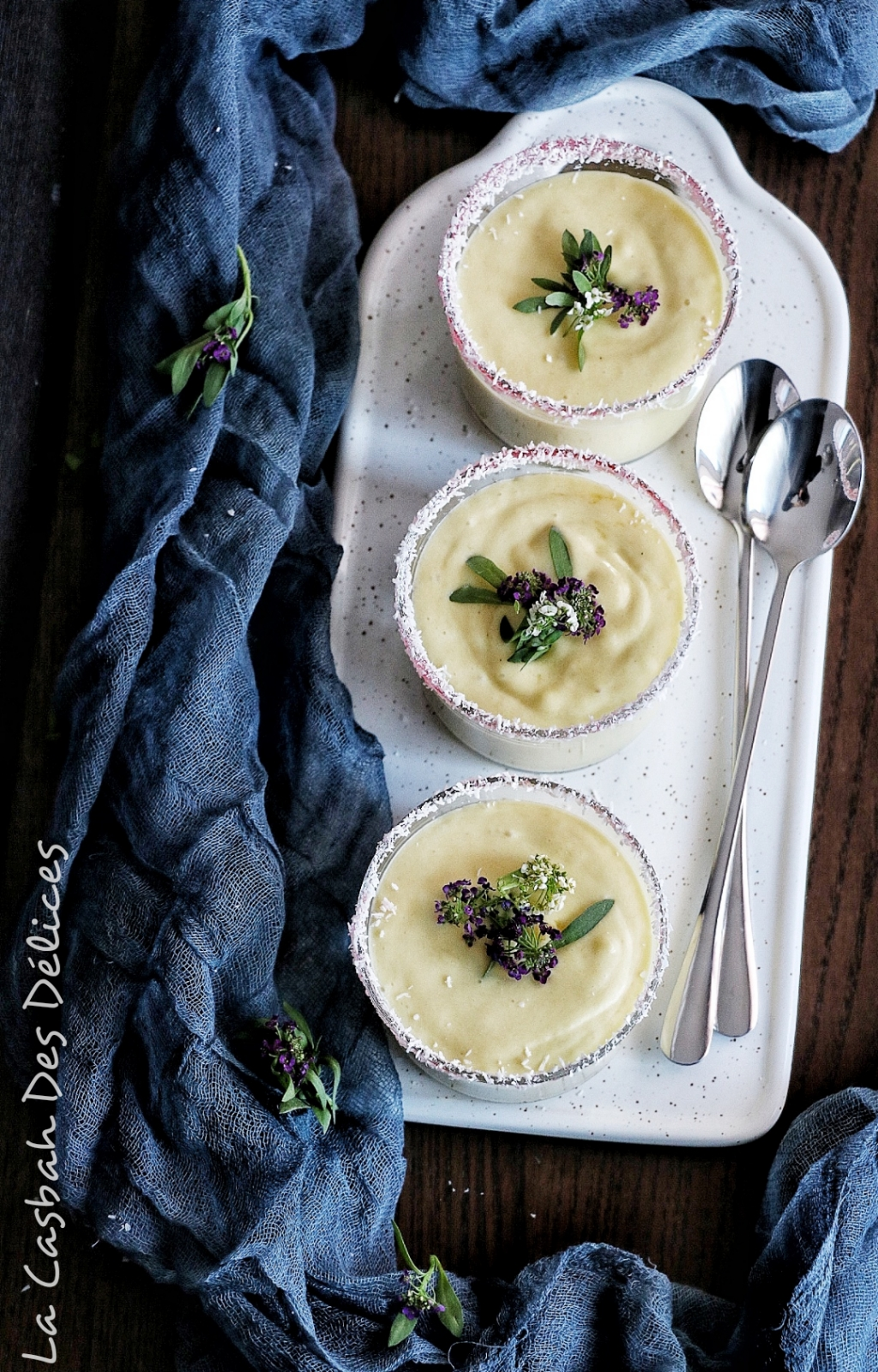 crème dessert mangue coco
