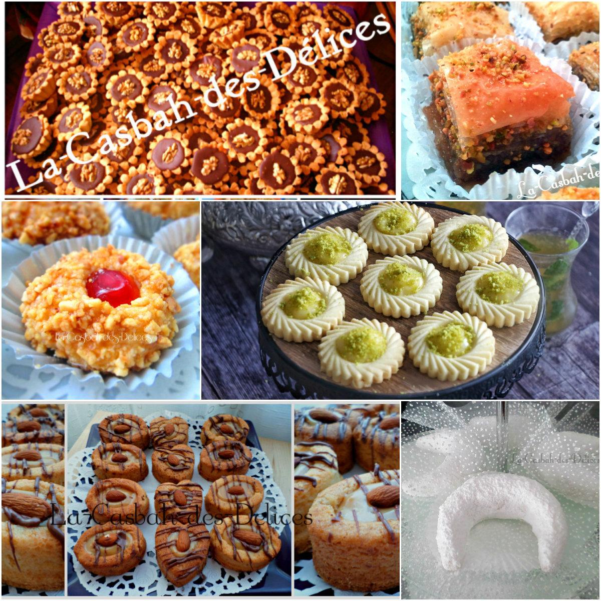 Recette Gateaux Pour Aid El Fitr: Gâteaux Eid El Fitr 2019