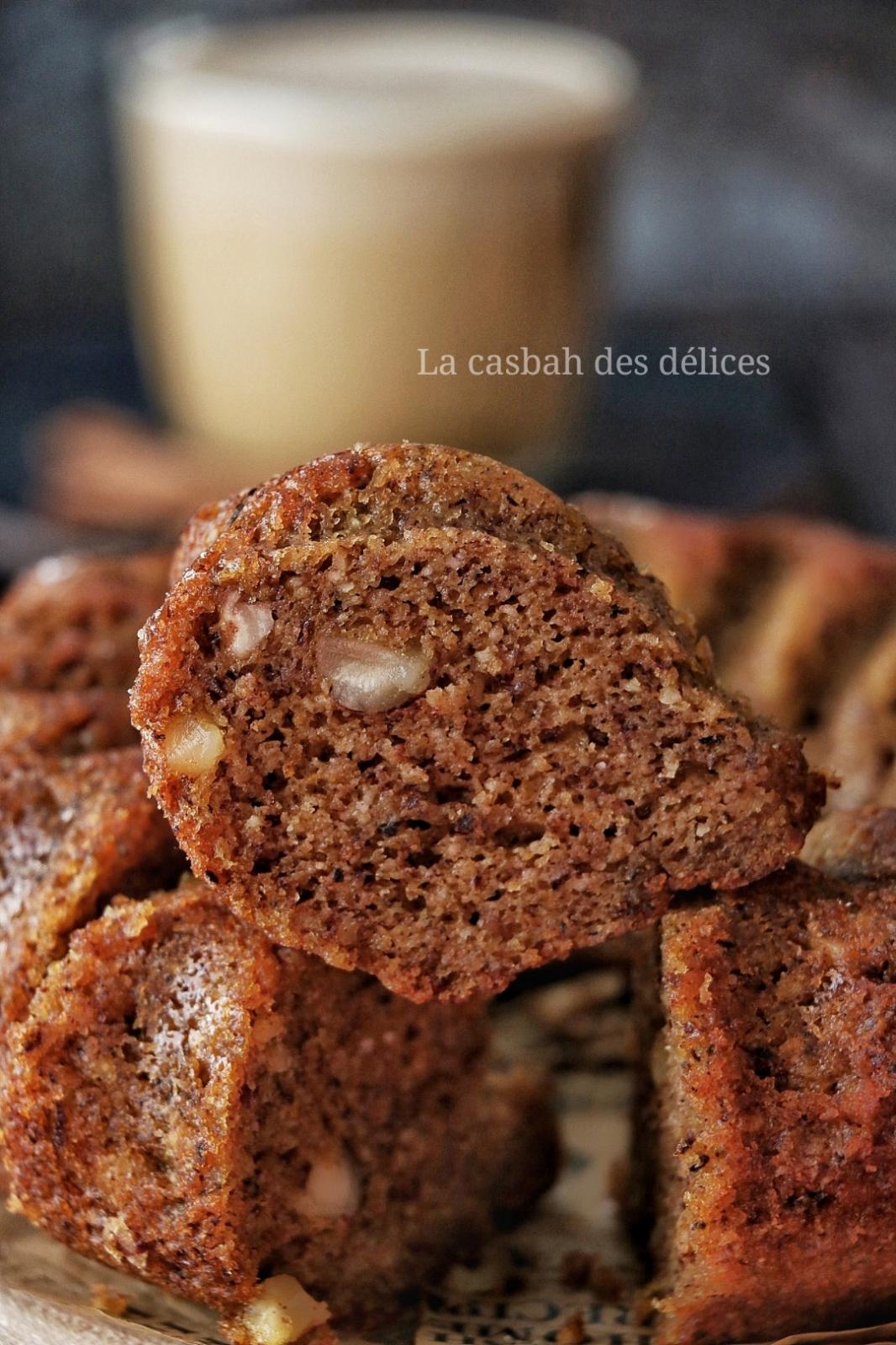 gâteau au potiron et aux noisettes